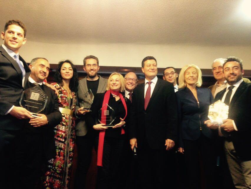 Ceremonia de entrega de premios marruecos fitur 2017 for Oficina de turismo de marruecos