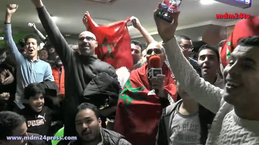 La alegría de los marroquíes de España