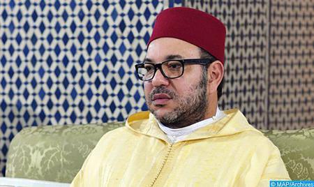 Photo de Mensaje de condolencias y compasión de SM el Rey a la familia del niño Adnane Bouchouf