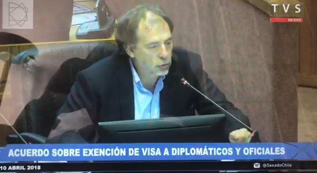 Senador chileno