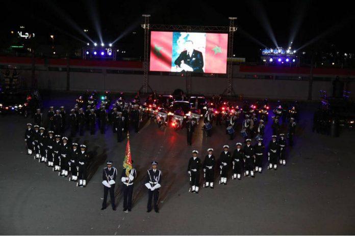Ceremonia central en Kenitra