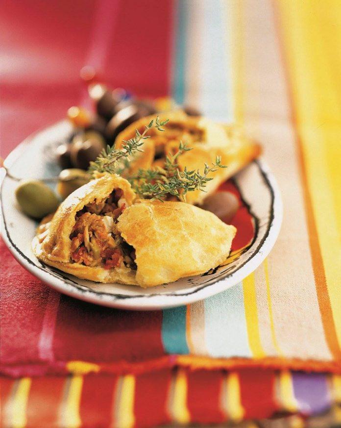 Empanadas con atún