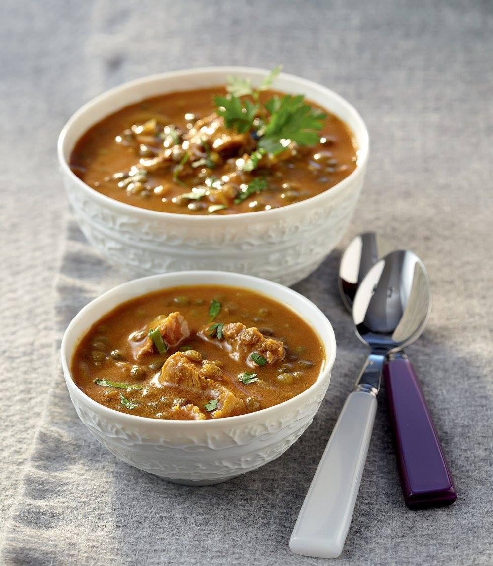 Sopa de curry angloindia