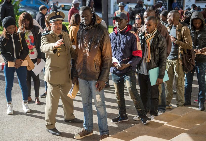 Photo de HCP: Los refugiados en Marruecos viven en 2.168 familias