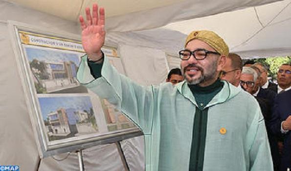 Photo de Fundación Mohammed VI para la Solidaridad : SM el Rey inaugura un segundo centro de medicina de adicción en Tánger