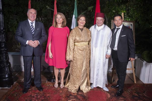 Photo de El Campo de Gibraltar y la Costa del Sol, presentes en el acto de la Fiesta del Trono organizado por el Consulado de Marruecos en Algeciras  FRANCISCO ACEDO TORREGROSA