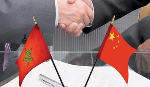 Photo de Bourita se entrevista con el ministro de Estado y ministro de Asuntos Exteriores de la República Popular de China, Wang YI