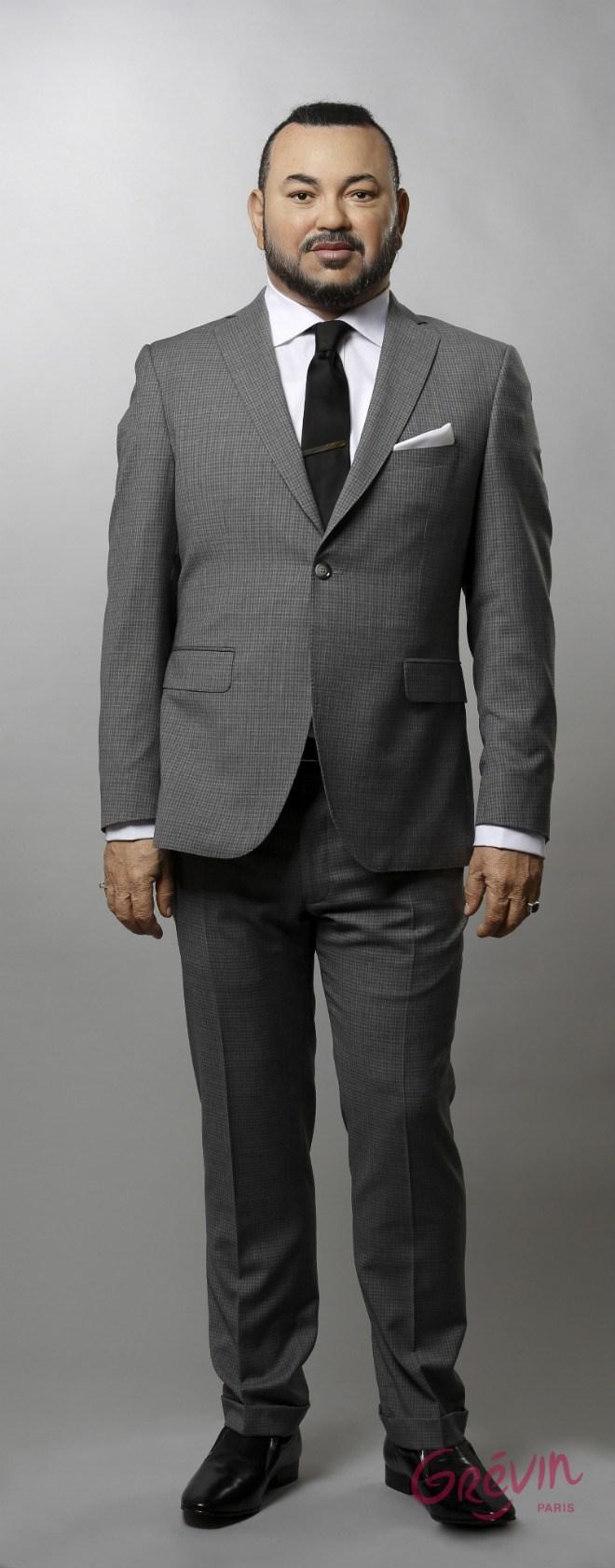 estatua del rey Mohammed VI