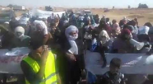 Continúan las protestas en Rabuni (capital administrativa del Polisario)