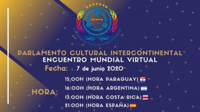 Photo of Invitación al Encuentro Mundial Virtual del Parlamento Cultural Intercontinental