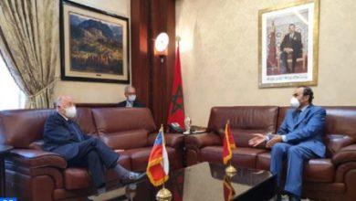 Photo of El embajador chileno en Rabat saluda el desarrollo cualitativo de las relaciones de su país con Marruecos