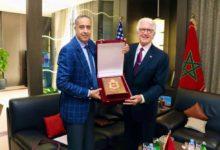 Photo de Marruecos / Estados Unidos / Cooperación  Hammouchi recibe en Rabat al Embajador de los Estados Unidos de América en el Reino