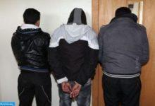 Photo de Tánger/Esta mañana: Detención de tres personas por sus presuntos vínculos con una red criminal activa en el tráfico de drogas (DGSN)