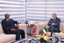 Photo de Los medios de reforzar la cooperación industrial centra una reunión entre El Alamy y el ministro ecuatoguineano de Asuntos Exteriores