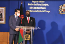 Photo de Sáhara marroquí: Malawi apoya una solución en el marco de la soberanía marroquí (MAE de Malawi)