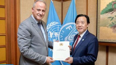 Photo de FAO: Marruecos, plenamente comprometido con la seguridad alimentaria en África (Embajador)