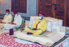 Photo de SM el Rey, Amir Al Muminin, celebra una velada religiosa en conmemoración de Aid Al Mawlid Annabawi Al Sharif (Actualizado)