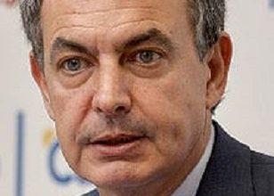 """Photo de José Luis R. Zapatero en el Congreso fundacional del MSP: """"La Comunidad internacional apoya vuestros objetivos y os garantizo mis esfuerzos y apoyo personal"""""""