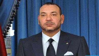 Photo de SM el Rey envía un mensaje de condolencias a la familia del difunto Lahbib Herrass y la familia del difunto pintor Mohamed Melehi