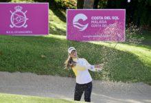 Photo de La lluvia afectó al recorrido de Maha Haddiouiayer en el Open de España de golf, por Francisco Acedo