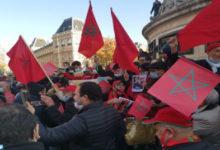 Photo de Sáhara: La diáspora marroquí manifiesta en París en apoyo a la intervención marroquí en El Guergarat