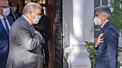 Photo de Sáhara: el ministro del Interior español, a su vez, reorienta a Pablo Iglesias
