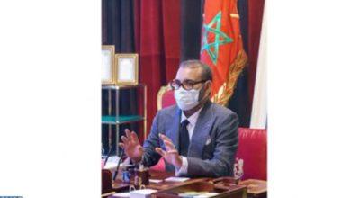 Photo de palacio real/Rabat/Hoy: El Rey ordena una vacunación masiva anti-Covid en las próximas semanas