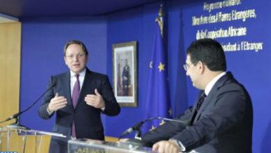 Photo de Covid-19: El comisario europeo para la Ampliación y la PEV a favor de un plan económico detallado de asociación entre Marruecos y la UE